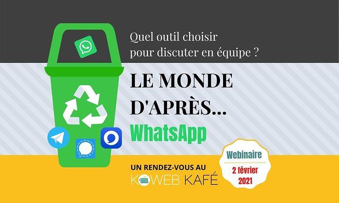 Atelier Whatsapp